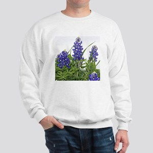 Plain Texas bluebonnets Sweatshirt